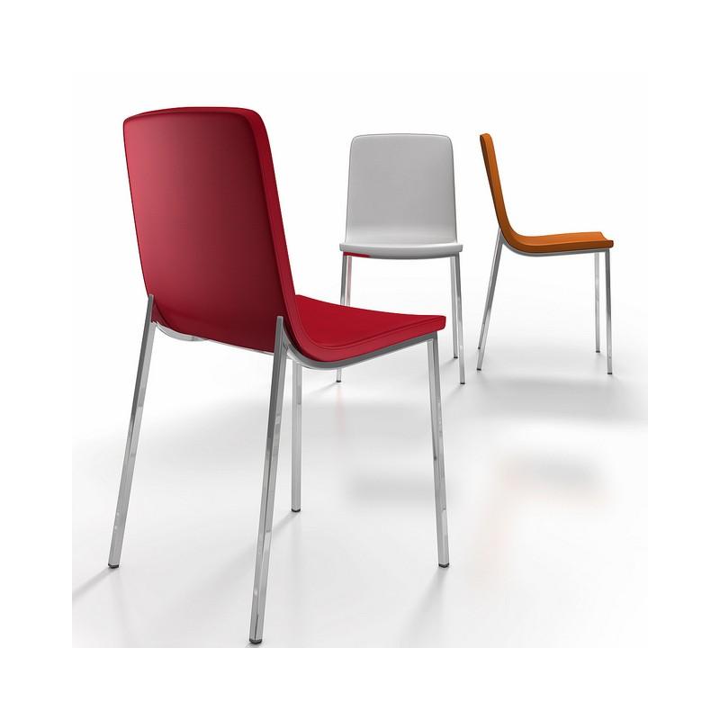 Silla hot tapizada sillas en ourense sillas de dise o en for Sillas diseno valencia