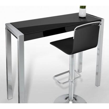 Mesa Barra Cumbre, Cancio mesa alta, barra de cocina en cristal